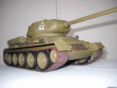 51Модель танка т 34 своими руками из металла